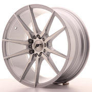 Japan Racing JR21 18x8,5 ET35 5x100/120 Silver Mac