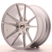 Japan Racing JR21 18x9,5 ET20-40 Blank Silver Mach