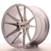 Japan Racing JR21 19x11 ET15-30 5H Blank Silver Ma