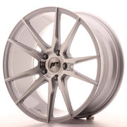 Japan Racing JR21 19x8,5 ET35 5x120 Silver Machine