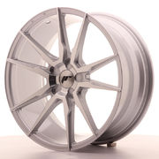 Japan Racing JR21 19x8,5 ET35-40 5H Blank Silver M