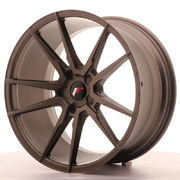 Japan Racing JR21 20x10 ET20-40 5H Blank Matt Bro
