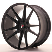 Japan Racing JR21 20x10 ET40 5H Blank Matt Black