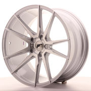 Japan Racing JR21 20x10 ET40 5H Blank Silver Mach