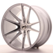 Japan Racing JR21 20x11 ET20-30 5H Blank Silver M