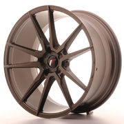 Japan Racing JR21 21x10 ET15-45 5H Blank Matt Bro