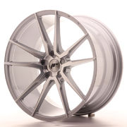 Japan Racing JR21 21x11 ET15-55 5H Blank Silver M