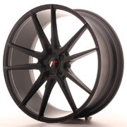 Japan Racing JR21 22x9 ET30-45 5H Blank Matt Bla