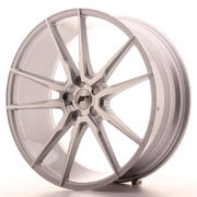 Japan Racing JR21 22x9 ET30-45 5H Blank Silver M