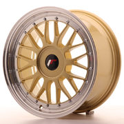 Japan Racing JR23 17x8 ET20-45 Blank Gold
