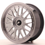 Japan Racing JR23 18x8 ET30-45 Blank Hiper Silver