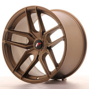 Japan Racing JR25 19x11 ET20-40 5H Blank Bronze