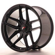 Japan Racing JR25 19x11 ET40 5H Blank Glossy Black