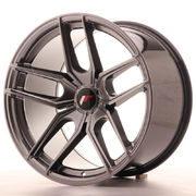 Japan Racing JR25 19x11 ET40 5H Blank Hyper Black