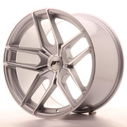 Japan Racing JR25 19x11 ET40 5H Blank Silver