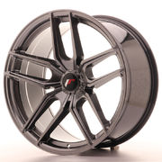 Japan Racing JR25 20x10 ET40 5H Blank Hyper Black