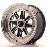 JR Wheels JR31 15x7.5 ET20 4H BLANK Gloss Black Machined Face