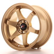 Japan Racing JR3 15x8 ET25 4x100/114 Gold