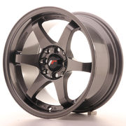 Japan Racing JR3 15x8 ET25 4x100/108 Gun Metal