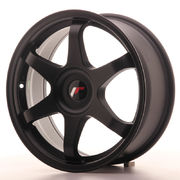 Japan Racing JR3 17x7 ET35-40 Blank Matt Black