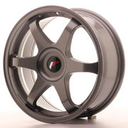 Japan Racing JR3 17x7 ET35-40 Blank Gun Metal