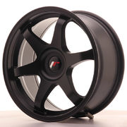 Japan Racing JR3 17x8 ET35 Blank Matt Black