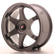 Japan Racing JR3 17x8 ET35 Blank Gun Metal