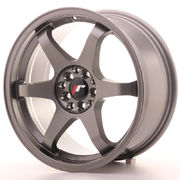 Japan Racing JR3 17x8 ET25 4x100/108 Gun Metal