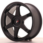 Japan Racing JR3 18x8 ET35-40 Blank Matt Black