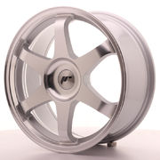 Japan Racing JR3 18x8 ET35-40 Blank Silver Machine