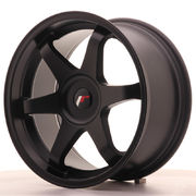 Japan Racing JR3 18x9 ET35-40 Blank Matt Black
