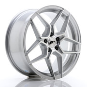 JR Wheels JR34 18x8 ET42 5x112 Silver Machined Face
