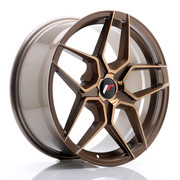 JR Wheels JR34 18x8 ET20-42 5H BLANK Platinum Bronze