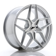 JR Wheels JR34 18x8 ET20-42 5H BLANK Silver Machined Face