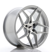 JR Wheels JR34 18x9 ET35 5x120 Silver Machined Face