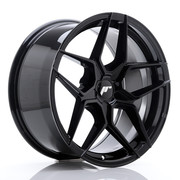 JR Wheels JR34 18x9 ET20-42 5H BLANK Glossy Black
