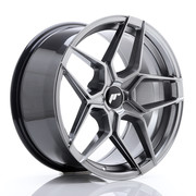 JR Wheels JR34 18x9 ET20-42 5H BLANK Hyper Black