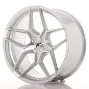 Japan Racing JR34 20x10 ET20-40 5H Blank Silver Ma