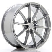 JR Wheels JR37 19x8,5 ET20-45 5H BLANK Silver Machined Face