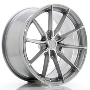 JR Wheels JR37 19x9,5 ET20-45 5H BLANK Silver Machined Face