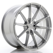 JR Wheels JR37 20x10 ET20-45 5H BLANK Silver Machined Face