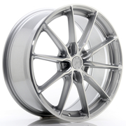 JR Wheels JR37 20x8,5 ET20-45 5H BLANK Silver Machined Face