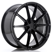JR Wheels JR37 20x9 ET20-45 5H BLANK Glossy Black