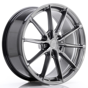 JR Wheels JR37 20x9 ET20-45 5H BLANK Hyper Black