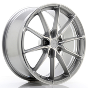 JR Wheels JR37 20x9 ET20-45 5H BLANK Silver Machined Face