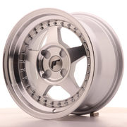 Japan Racing JR6 15x8 ET25 4H Blank Machined Sil