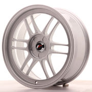 Japan Racing JR7 18x8 ET35 5H Blank Silver