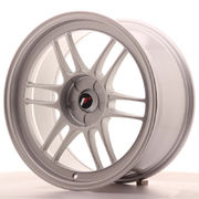 Japan Racing JR7 18x9 ET35 5H Blank Silver