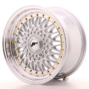 Japan Racing JR9 16x8 ET25 Blank Silver