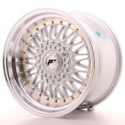 Japan Racing JR9 17x10 ET20 Blank Silver